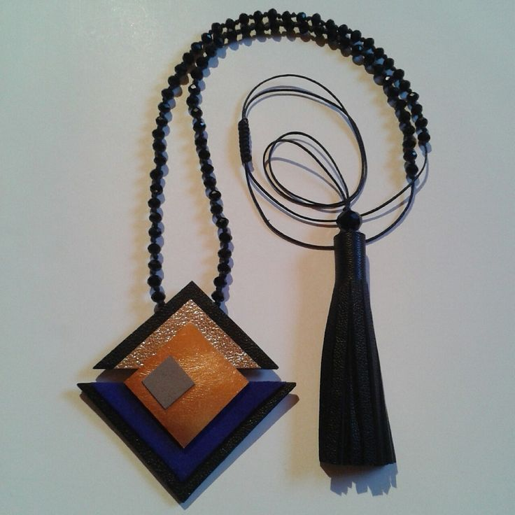 Geometry_I handmade necklace,by L_L.♡