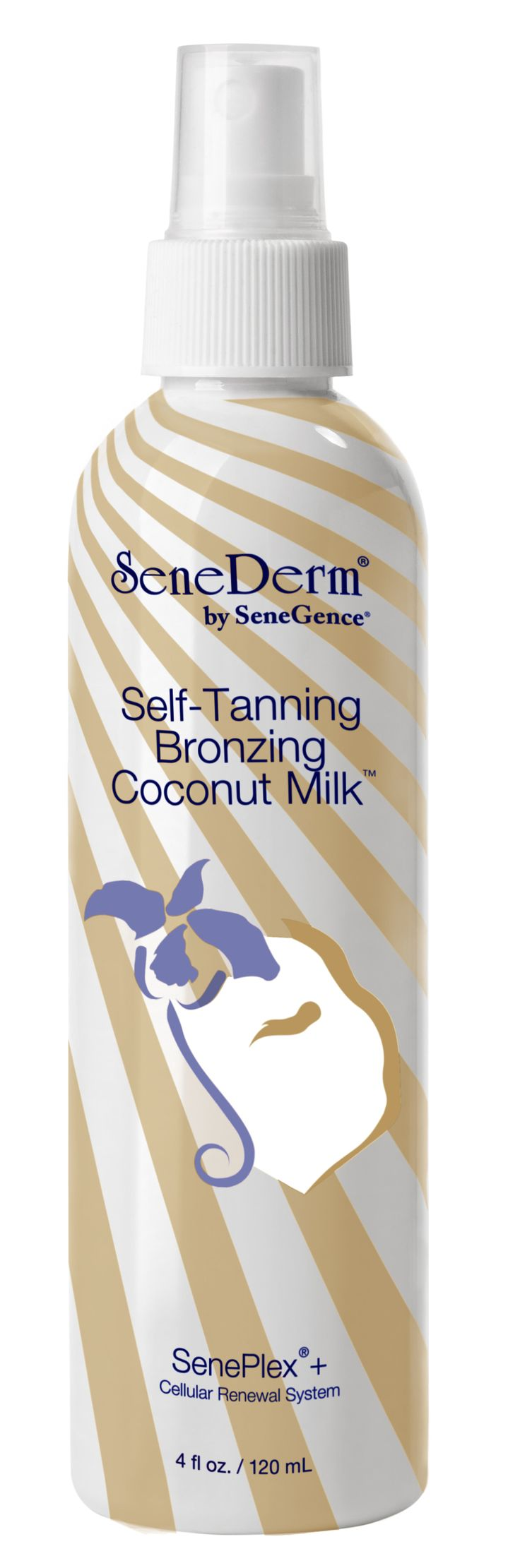 Spritz on your freshly-back-from-the-beach healthy glow with SeneDerm Self-Tanning Bronzing Coconut Milk. Year round, you can look as though you spent all day basking in the sun, without exposing your skin to harmful UV rays.