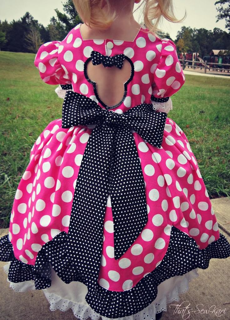 The perfect Minnie Mouse Dress! — Pattern Revolution - could this cutout be translated to something more casual like a jumper or shirt?