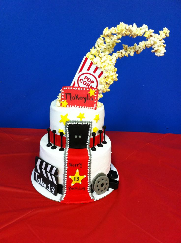 Cake Art Hollywood : 78+ images about Hollywood Theme Birthday Party on ...