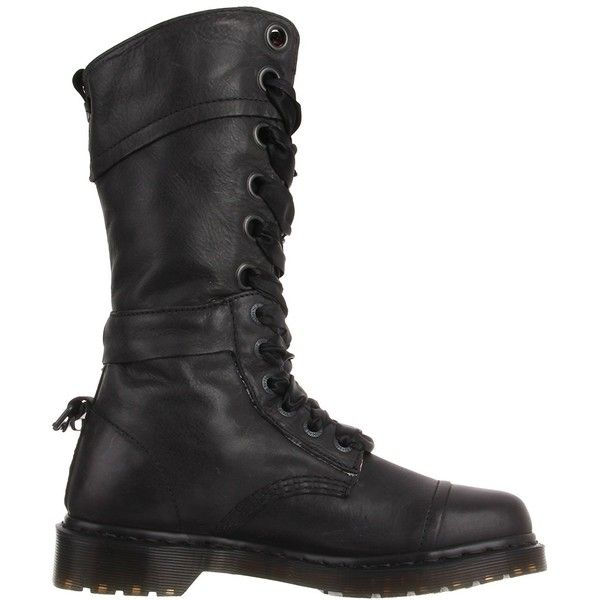 Dr. Martens Women's Triumph 1914 W Boot (2 440 ZAR) ❤ liked on Polyvore featuring shoes, boots, dr. martens, wide width boots, wide fit shoes, dr martens shoes and dr martens footwear