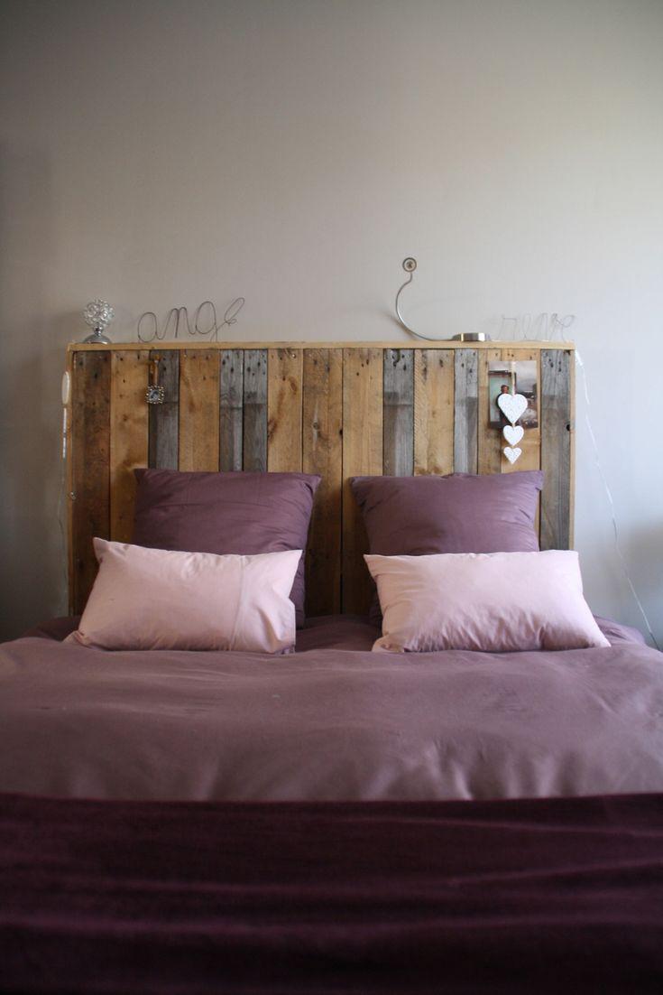 chambre images about palettes tete lit palette bois avis. Black Bedroom Furniture Sets. Home Design Ideas