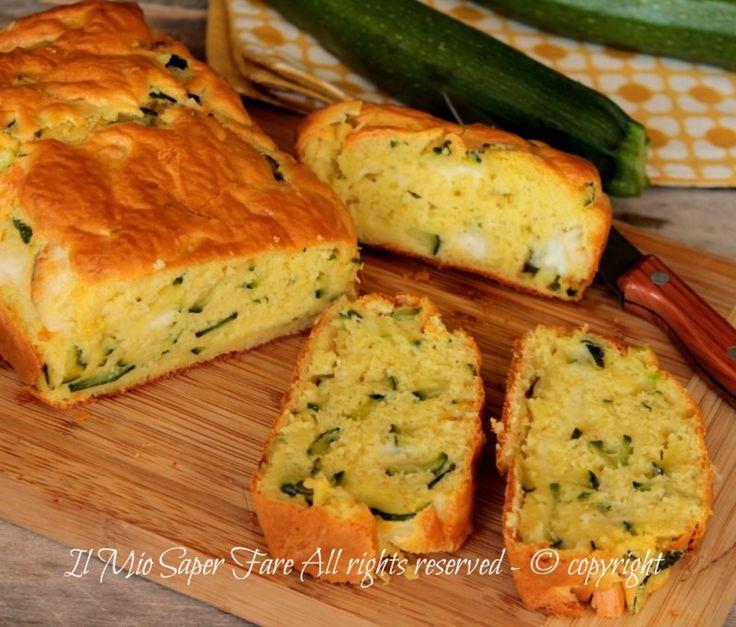 Plumcake zucchine e formaggio soffice, gustoso.Ricetta con zucchine facile.Torta…