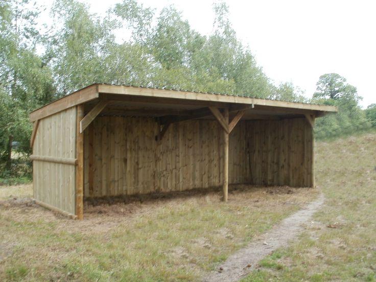 Abri OREGON 4 X 3, Abris de prairie, BCD CHEVAL, Abris - Box - Clôtures en bois pour chevaux chez Equimat Cheval