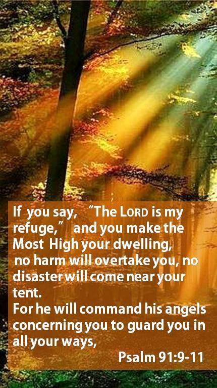 Psalm 91:9-11  Almighty        (El Shaddai)- Unconquerable, The all-Sufficient God, eternally capable of being all that we will ever need!