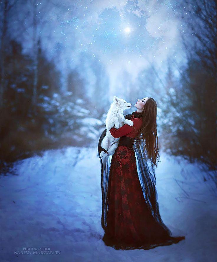 A fotógrafa Russa Margarita Kareva transforma o mágico mundo da fantasia em realidade através das
