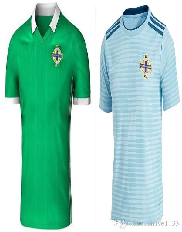 4a1214c7c33 Discount New 2018 Northern Ireland World Cup Jersey Mcnair Green Away K  Lafferty Davis Thai Quality Northern Ireland Soccer Jersey From China    Dhgate.Com
