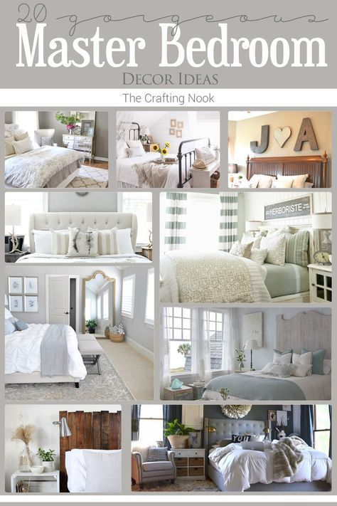 Gorgeous 20 Master Bedroom Decor Ideas