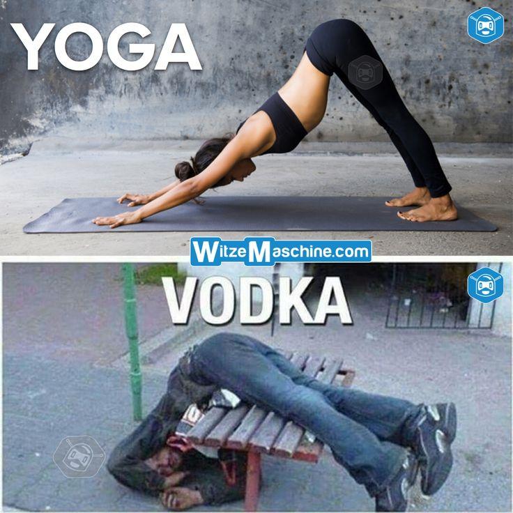 Verwechslung - Yoga Vodka - Russen Witze - Sport Fail