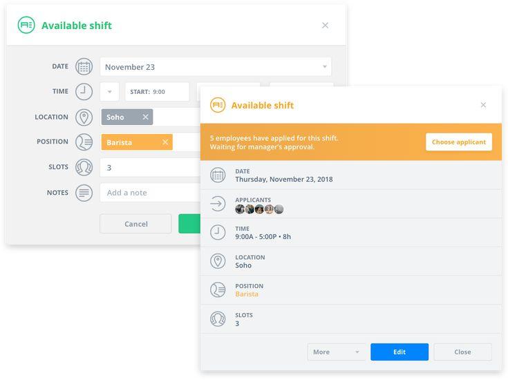 Employee Absenteeism Scheduling app, Employee handbook