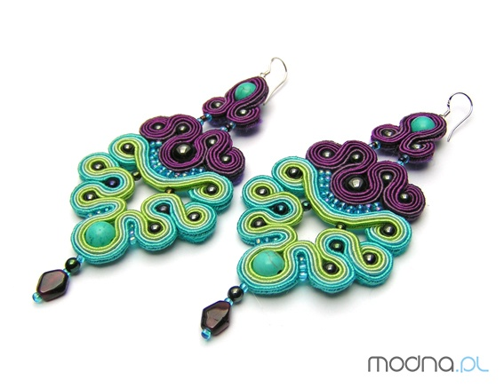Earrings - Soutache