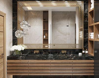 check out new work on my behance portfolio bathroom design and visualization lebanon - Bathroom Designs Lebanon