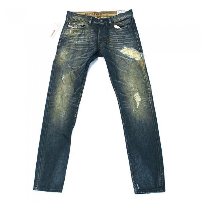 Diesel Tepphar 68Z Mens Jeans | DNA | Dirty New Age | Time Exposure | 0068Z | Slim | Carrot | Diesel Jean Sale | UK | Designer Man