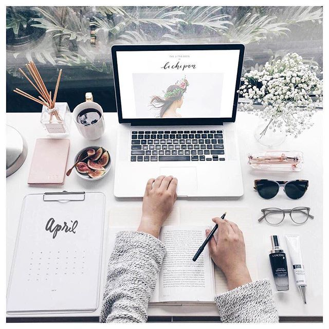 Today's desk space looked a little bit like this March had been so manic - Alrea...
