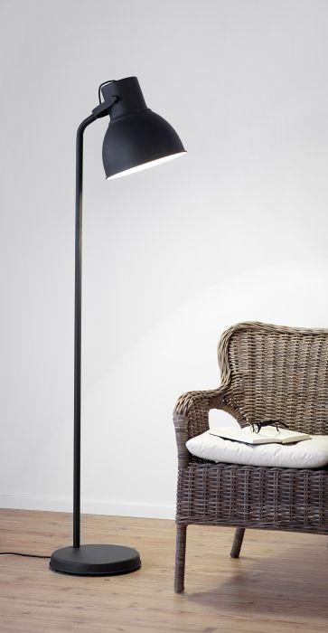 HEKTAR staande lamp | #IKEA #interieur #verlichting #woonkamer #leeslamp #industrieel