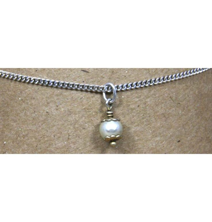 anklet silver best adjustable inch pinterest gemavenue ankle anklets bracelet bracelets sterling on elements pearl gems images faux swarovski white to round