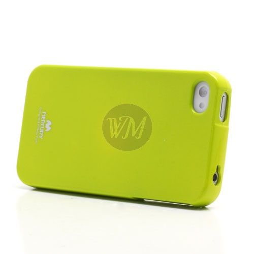 Husa iPhone 4/4S Mercury Flash Green