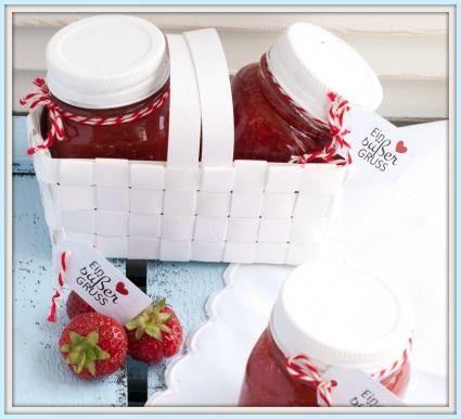 Das Glück im Glas: Marmelade hübsch verpackt! DIY-Printables ...