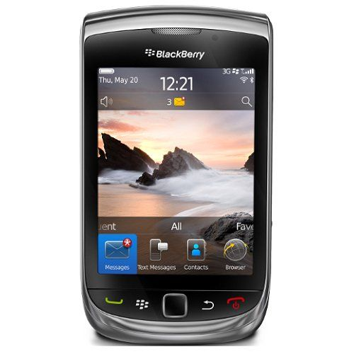 Blackberry Torch 9800 Unlocked Phone with 5 MP Camera, Full QWERTY Keyboard and 4 GB Internal Storage - Unlocked Phone - No Warranty - Black    Price: 	$229.44
