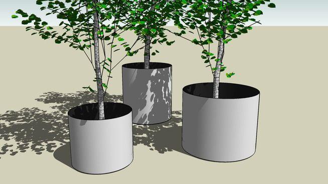 Superline Standard Planter group - 3D Warehouse