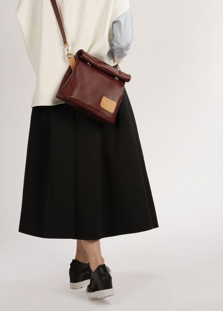 "Leather Crossbody Bag ""Chandler Bordo"", Bordo Crossbody Bag, Leather Crossbody Purse, Cross Body Bag on a Strap"