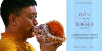 Lo Yoga Tibetano del Sogno e del Sonno    Lo Yoga Tibetano del Sogno e del Sonno, Geshe Tenzin Wangyal RinpocheVenerdì 16 marzo, alle 20.00    Relatore: Geshe Tenzin Wangyal Rinpoche    Lo Yoga Tibetano del Sogno e del Sonno  Una guida agli yoga tibetani che promuovono la consapevolezza durante il sonno e il sogno per ottenere la liberazione dallo stato di illusione onirica in cui è immersa la vita da svegli.  di Tenzin Wangyal Rinpoche  Edizioni Astrolabio Ubaldini
