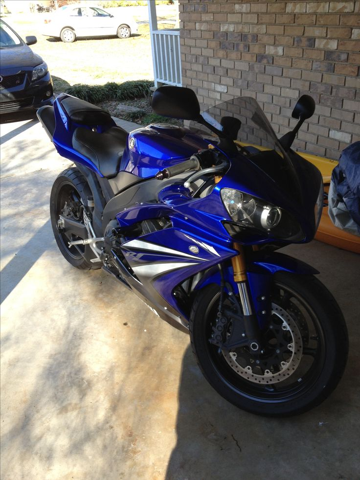 My R1...best present a wife could give her husband !!!