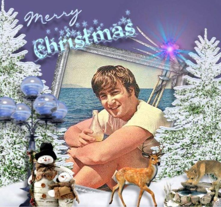"""John Lennon """"Merry Christmas"""""""