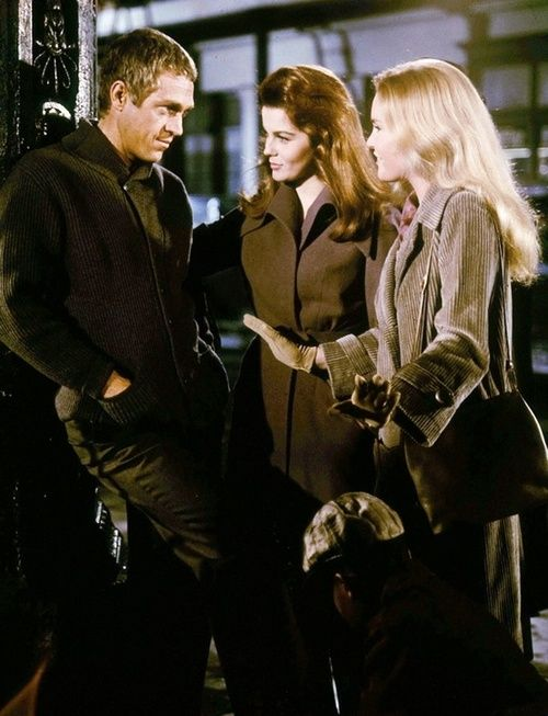 THE CINCINATTI KID (1965) - Steve McQueen, Ann-Margret & Tuesday Weld - Directed by Norman Jewison - MGM - Publicity Still.