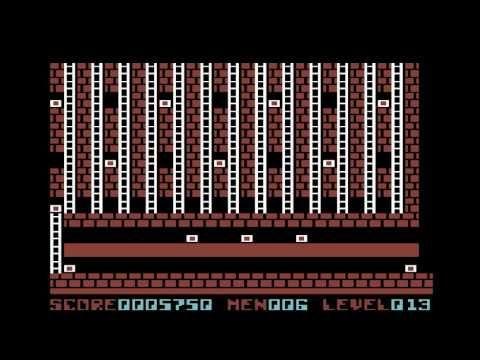 C64 Longplay - Lode Runner