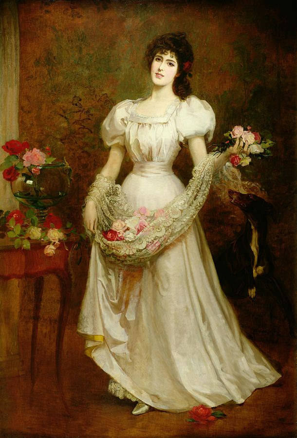 victorian painting woman - Google Search