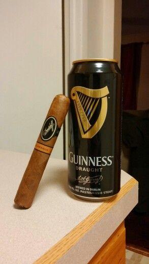 #davidoff cigar and a draught #beer