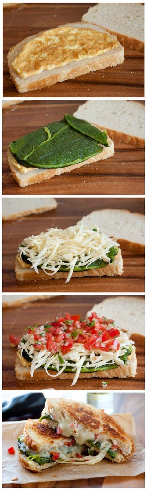 Chile Relleno Grilled Cheese Sandwich Mais