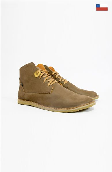 Bestias- Pudu Cafe. Men's leather boots. Made in Chile.
