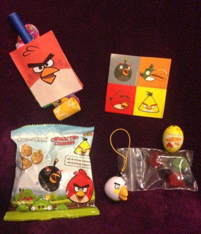 Angry Birds Party - Favors/Favours