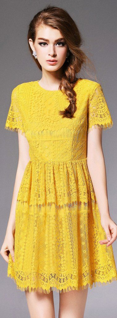 25  best ideas about yellow lace on pinterest