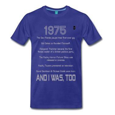 1975 39th / 40th Birthday