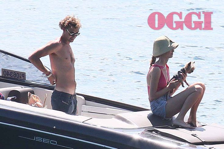 Beatrice Borromeo wearing a Eres swimsuit