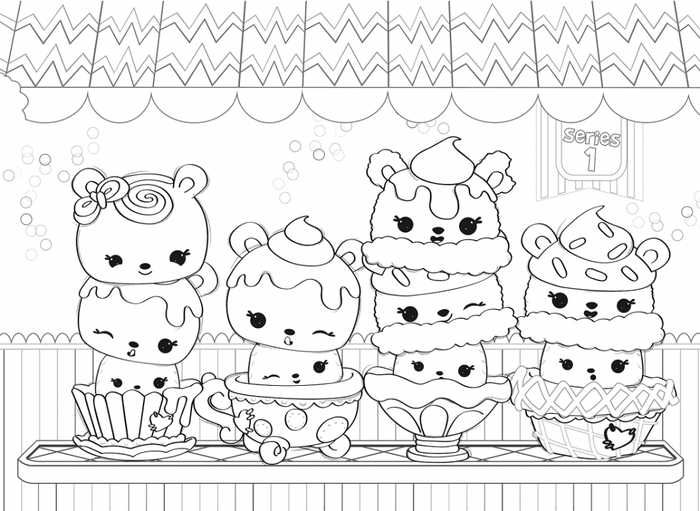 Printable Num Nom Coloring Pages Collection With Images Fairy