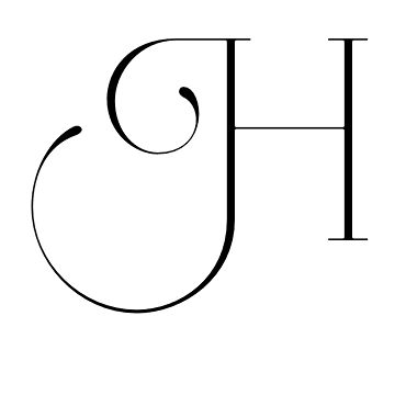 Latin Capital Letter H, Initial Forms, Aire Light Pro font