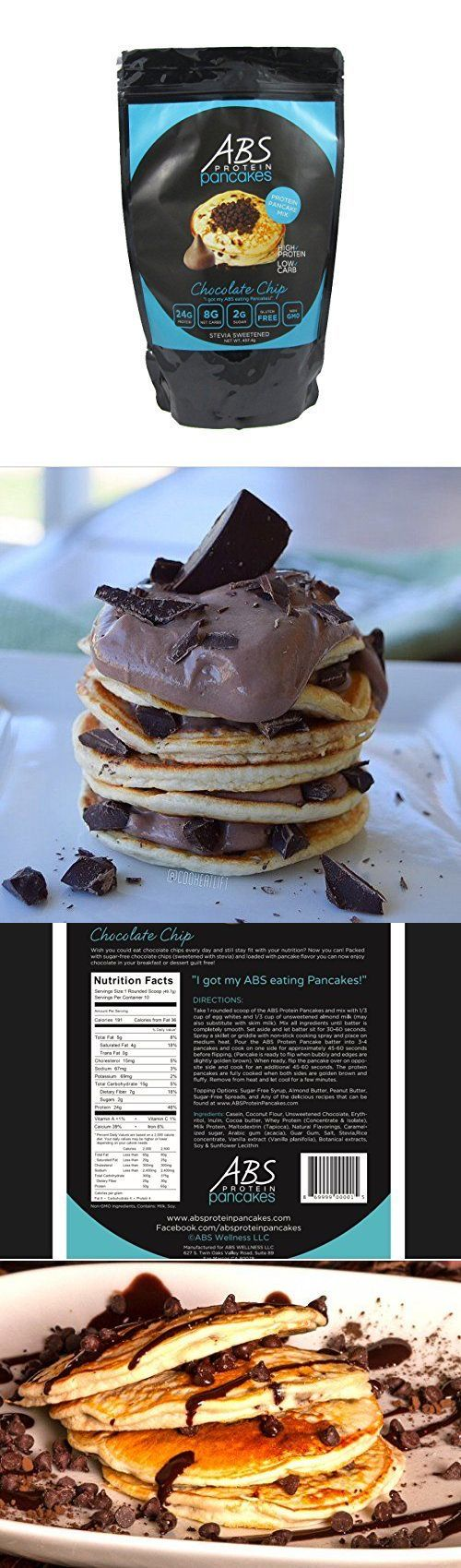 Baking Mixes 62695: Abs Protein Pancakes Chocolate Chip Pancake And Waffle Mix 1Lb, New -> BUY IT NOW ONLY: $45.34 on eBay!
