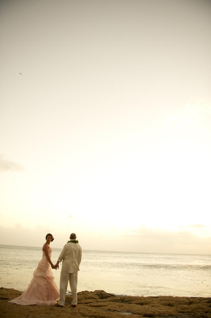 Disney Aulani beach at sunset = Hawaiian perfection