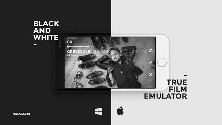 Black & White Film Emulator App