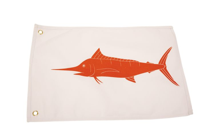 Marlin Catch and Release Boat Flag  #fishing #fishinglife #saltwater #angler #fishingtrip #saltwaterfishing