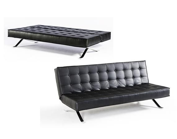 Perfect for a modern office and that afternoon slump.  Divani Casa Santa Fe Sofa Bed