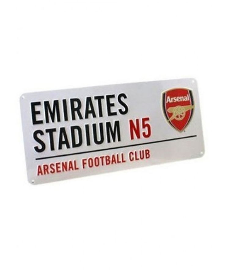 Arsenal FC Emirates Stadium Street Sign makes an ideal gift for any Gunners fan.