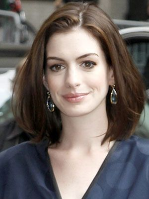 Hair. Anne Hathaway.