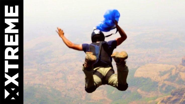 Kurze Dokumentation über einen Base Jumper aus Indien, der als erster Mensch den Konkan Kada gesprungen ist – Respekt!