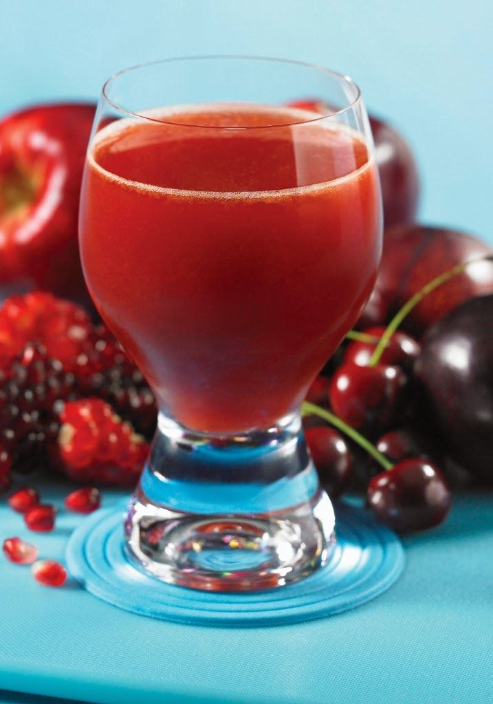 Pom Pom Juice (Recipe from The Juicing Bible)