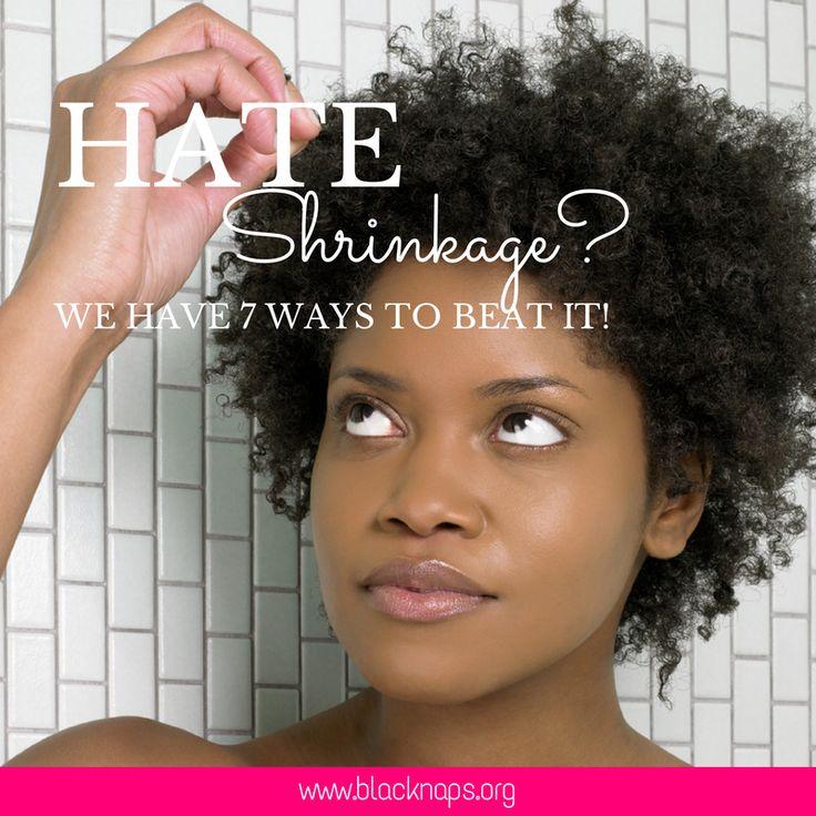 Hate Shrinkage-